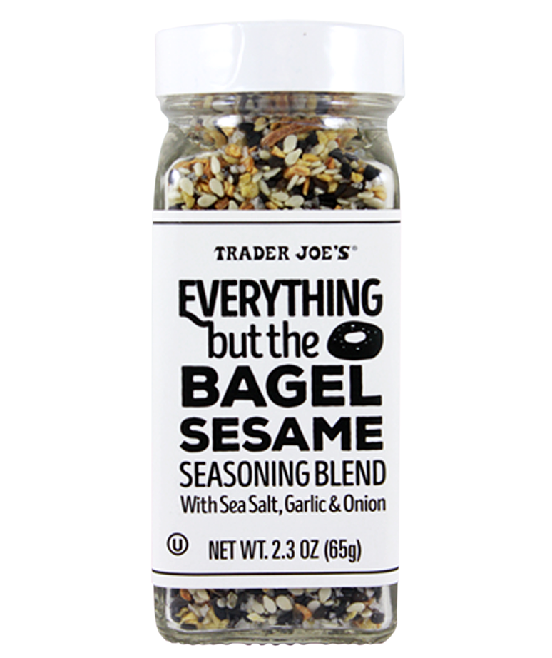 You Have To Try Trader Joe's New Everything But the Bagel Sesame Seasoning
