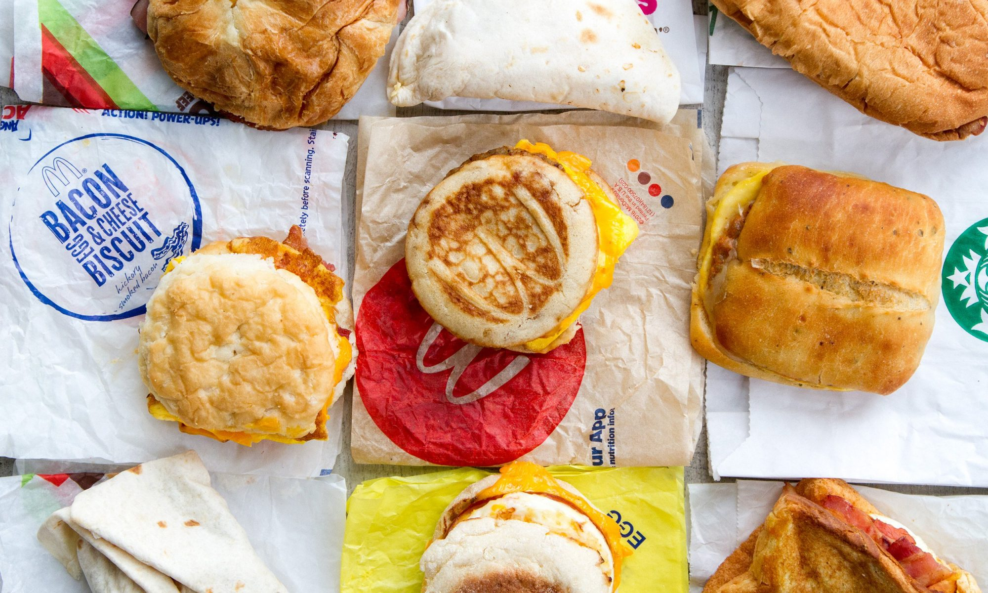 I Ate 9 Fast Food Breakfast Sandwiches in One Day and Here's the Best One