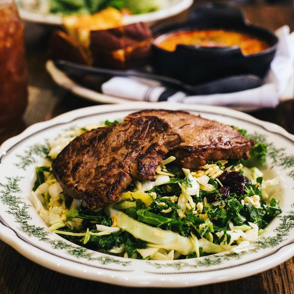 Things wed like to try from ree drummonds restaurant southern living ginger steak salad pioneer woman mercantile forumfinder Images