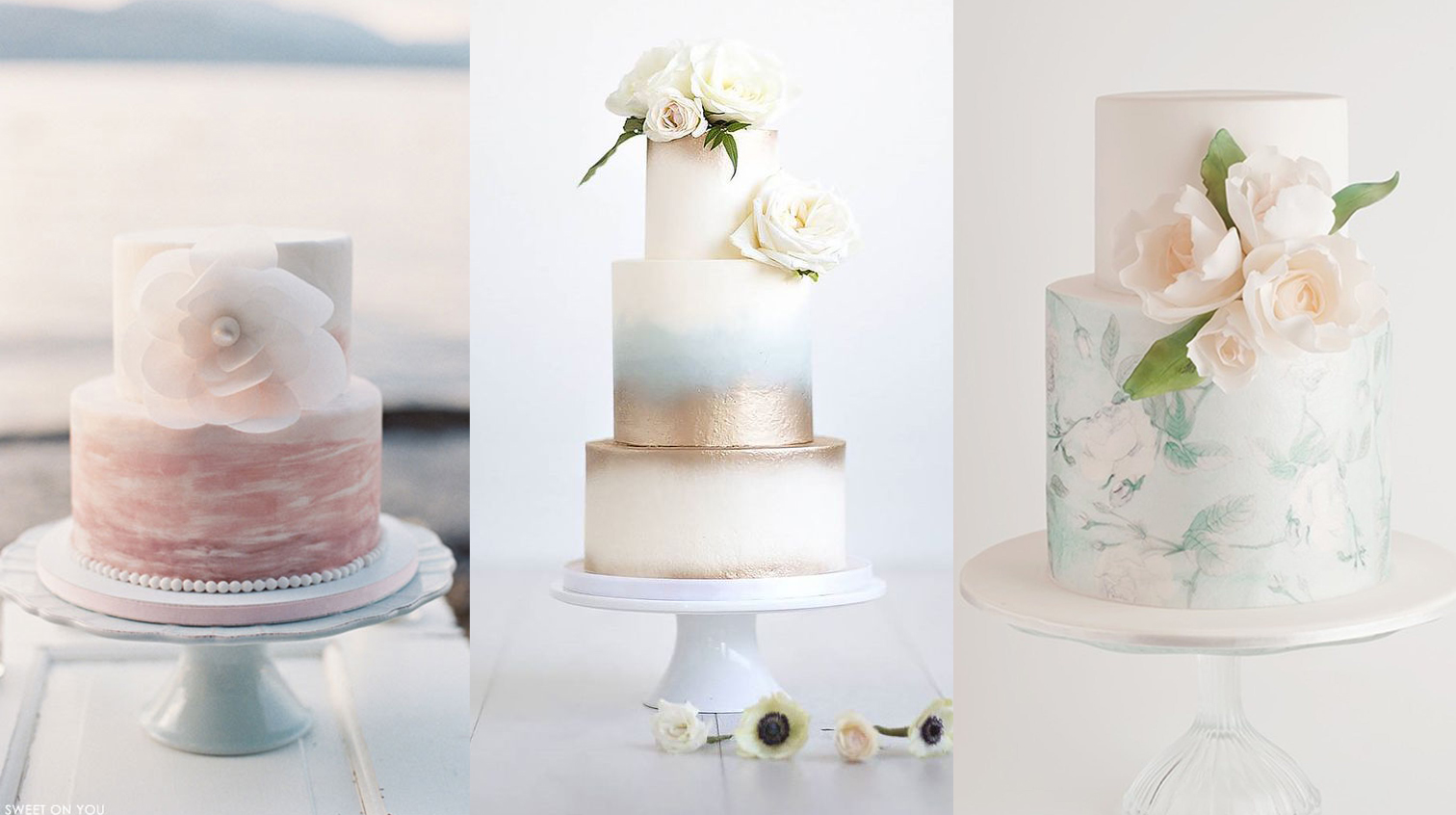 Watercolor Wedding Cakes Might Be The Next Big Wedding Trend