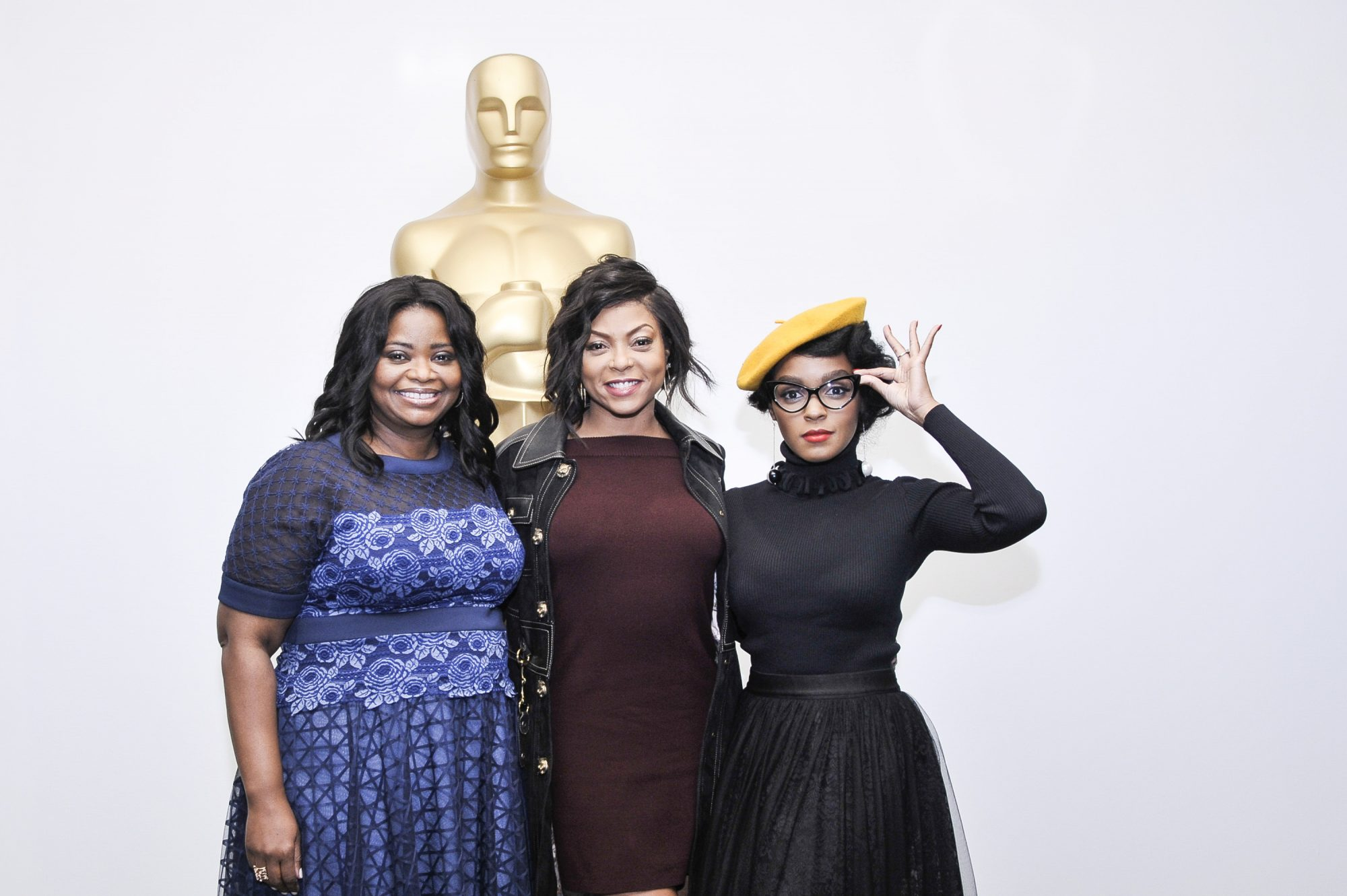Hidden Figures Cast: Octavia Spencer, Taraji P. Henson, and Janelle Monáe