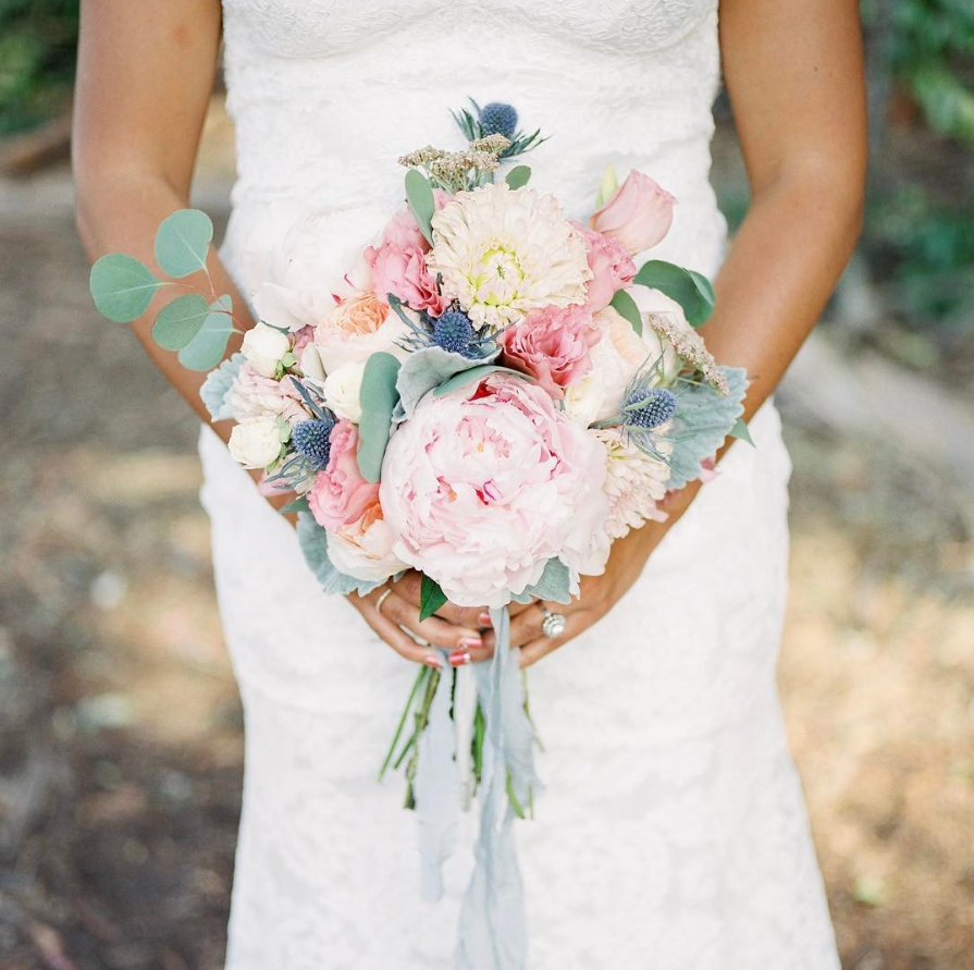 Peony Wedding Bouquets Whimsical