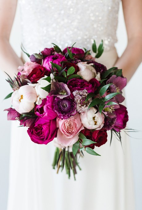 Peony Wedding Bouquets Bold