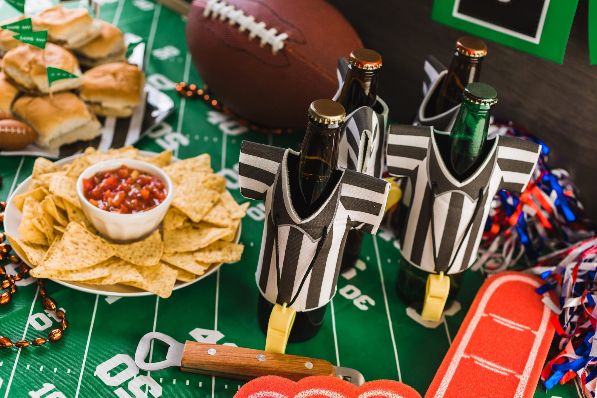 How to Make a Super Bowl Snack Stadium