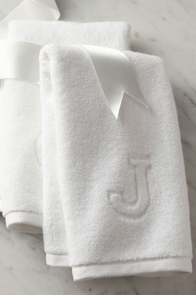 For the One Who's Weary of Monogrammed Towels