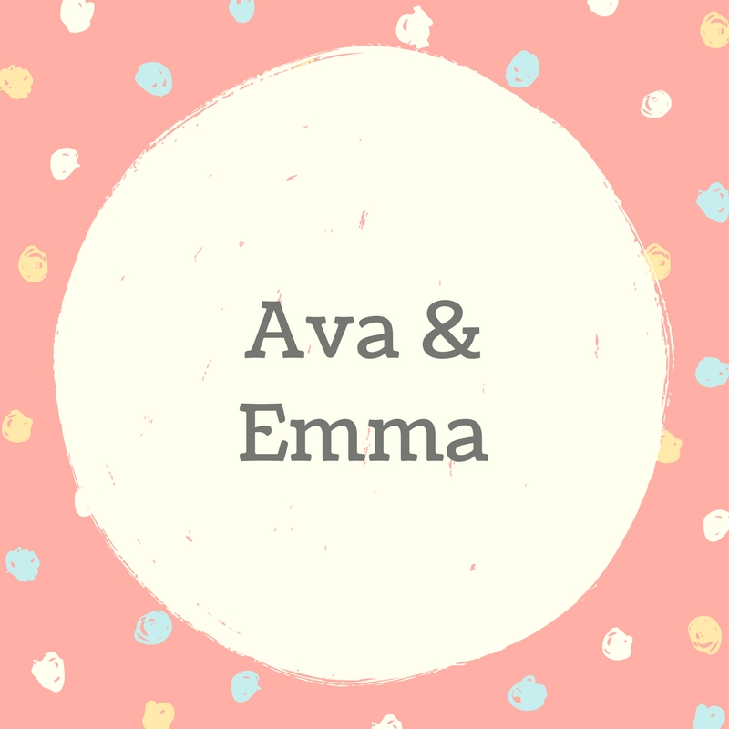 Twin Names: Ava and Emma