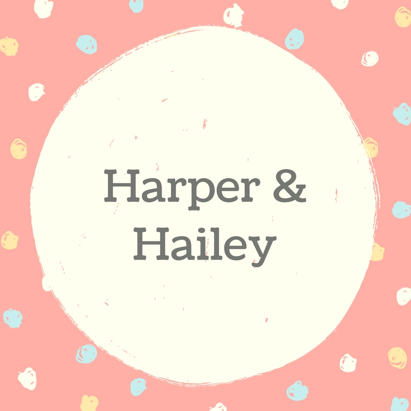Twin Names: Harper and Hailey