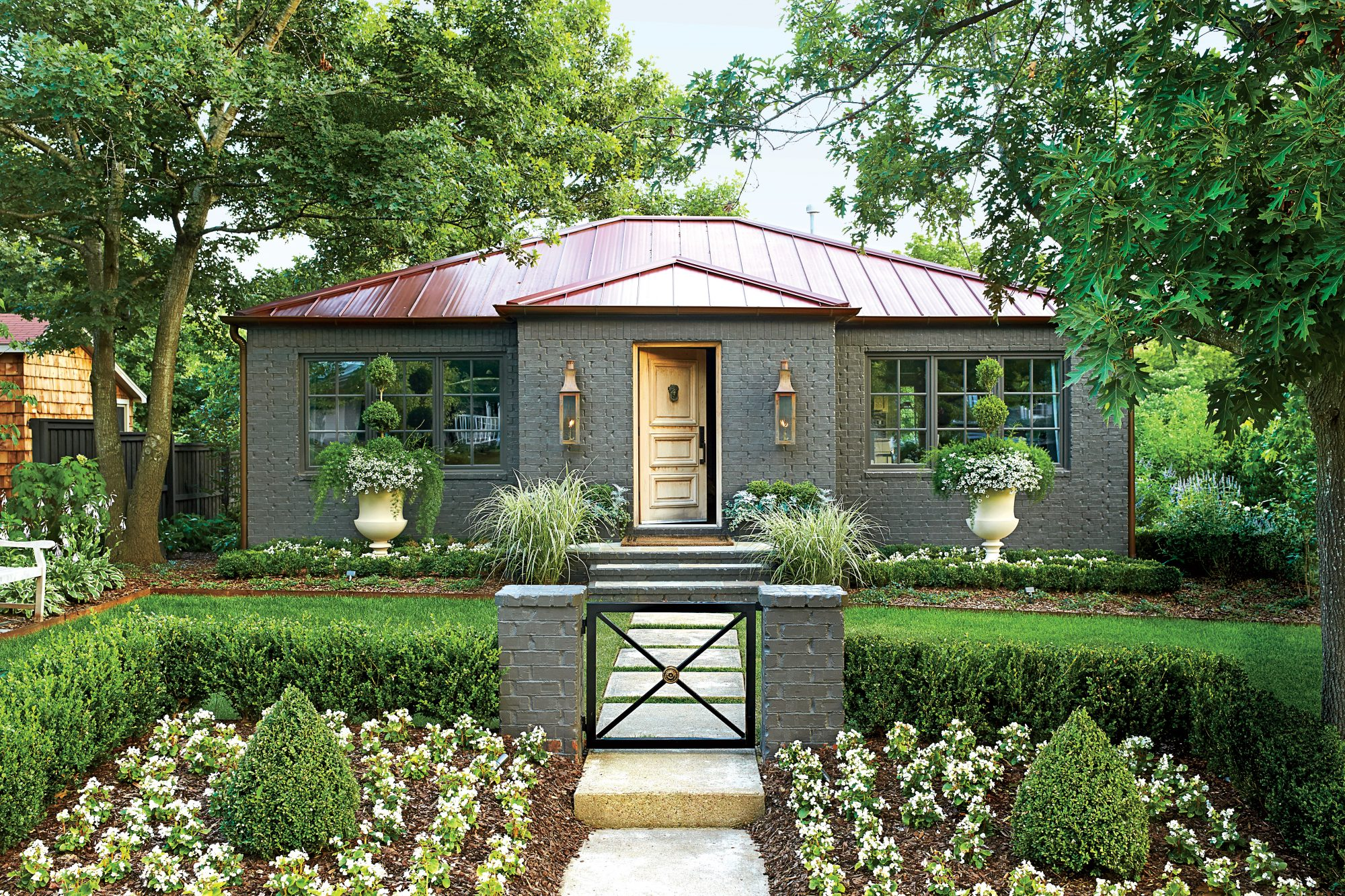picturesque city homes and gardens. Arkansas Cottage After Charming Home Exteriors  Southern Living