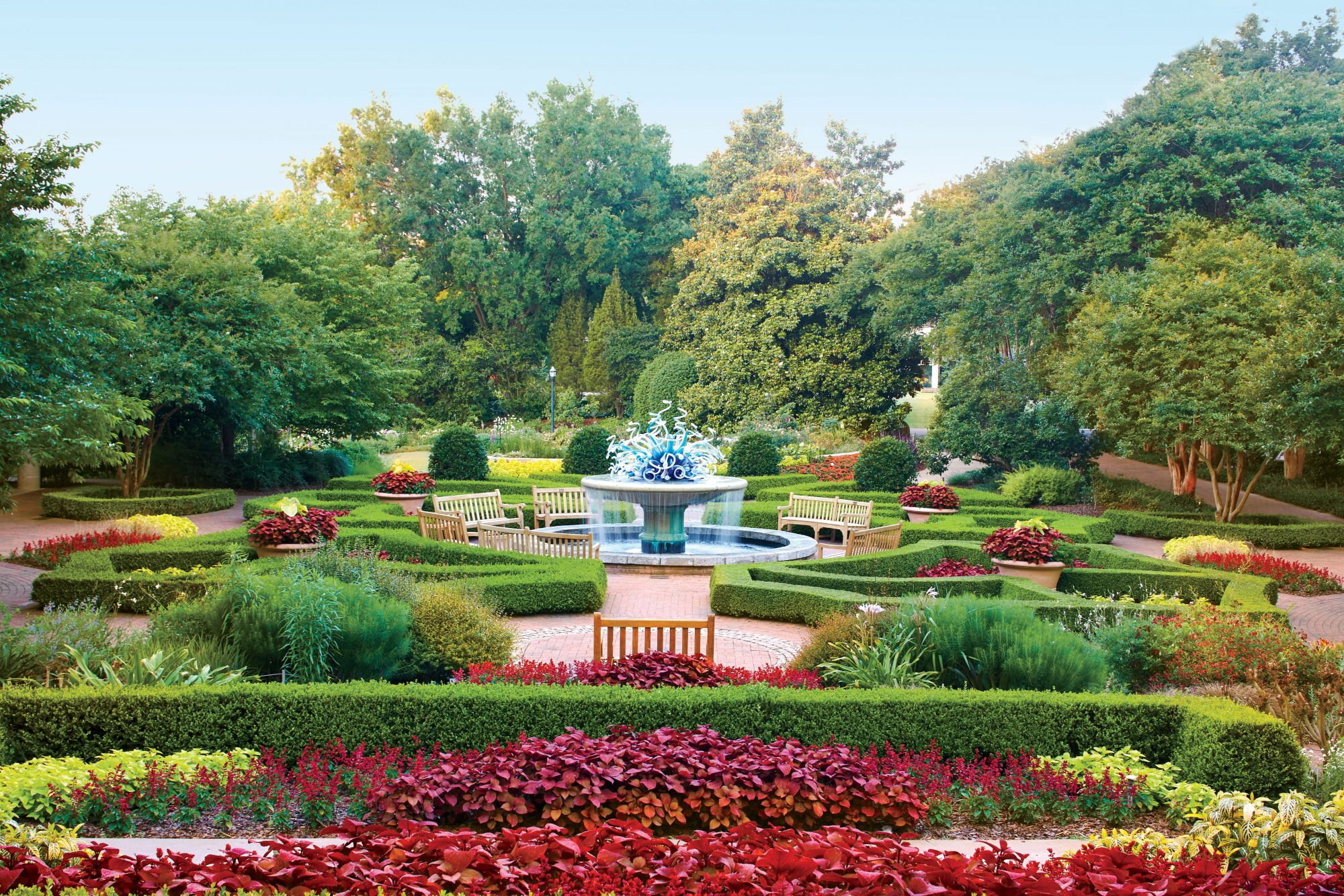 These must visit botanical gardens will give you spring fever southern living for What time does the botanical gardens close