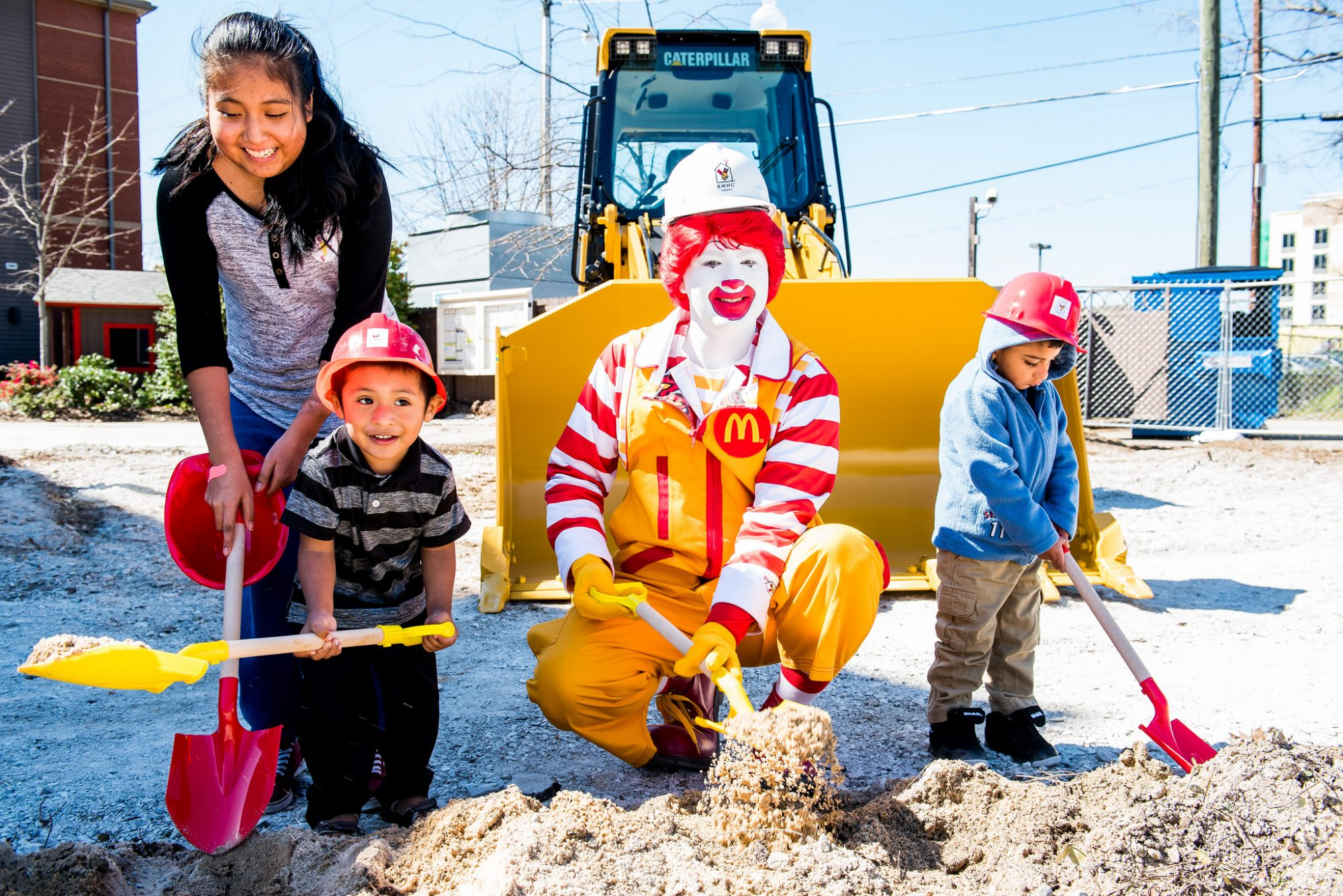 Ronald McDonald House Breaking Ground