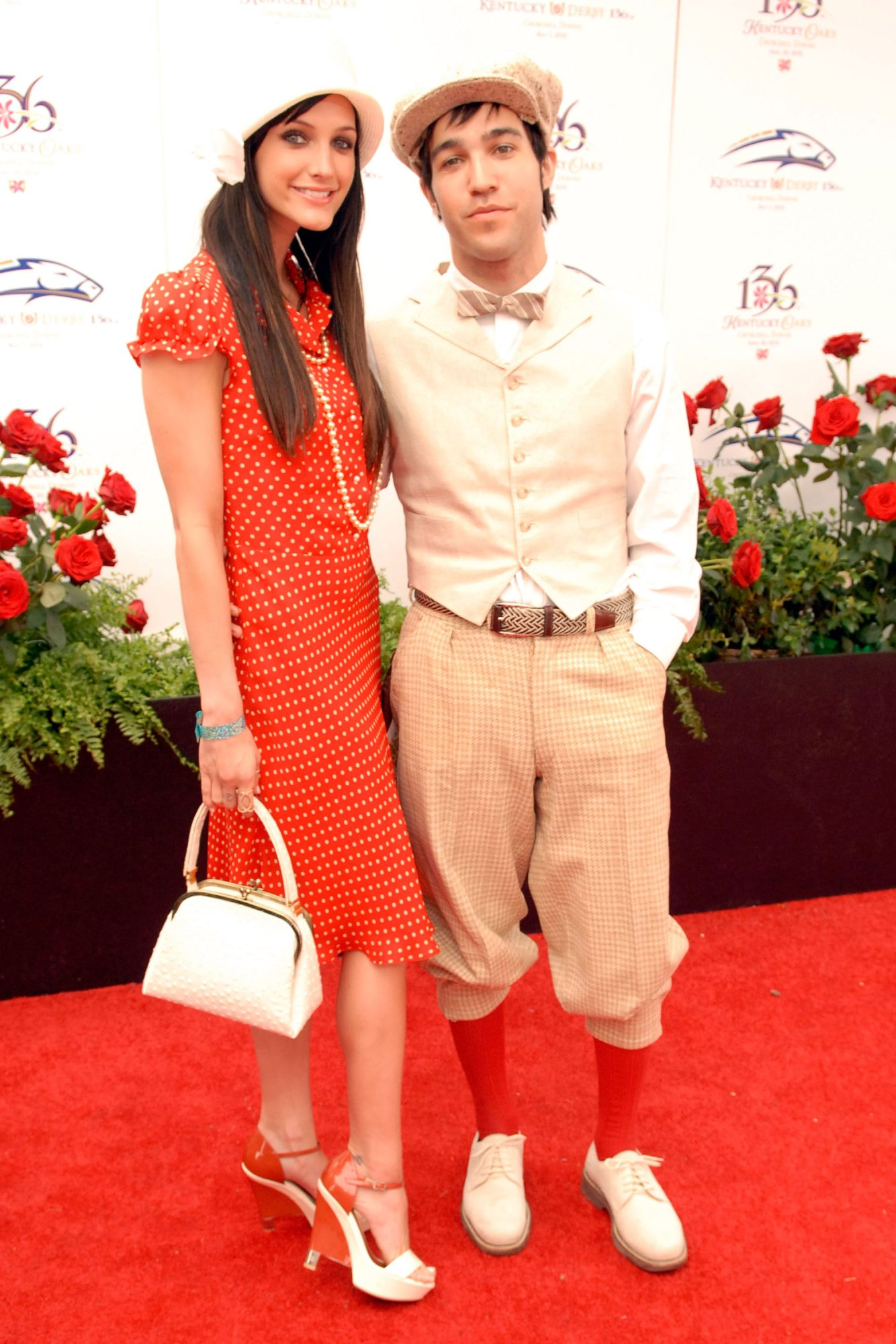 Ashlee Simpson at the Kentucky Derby