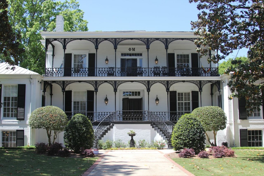 Phi Mu UGA Sorority House