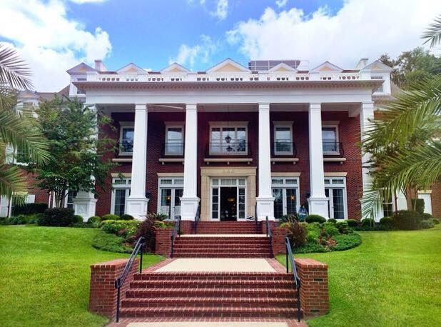 Over the top sorority houses southern living for Best housing at uf