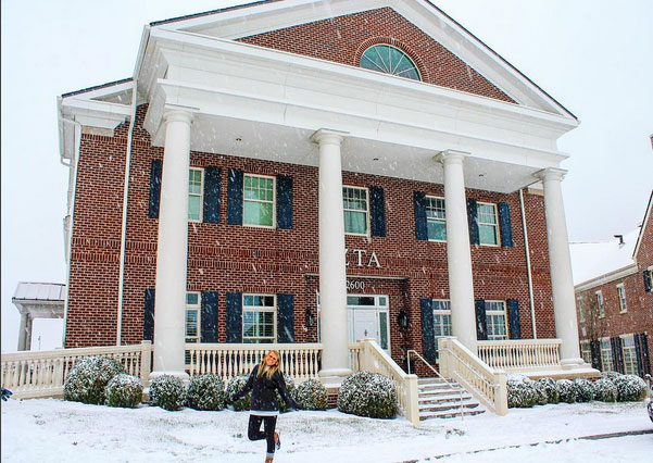 Zeta Tau Alpha Sorority House