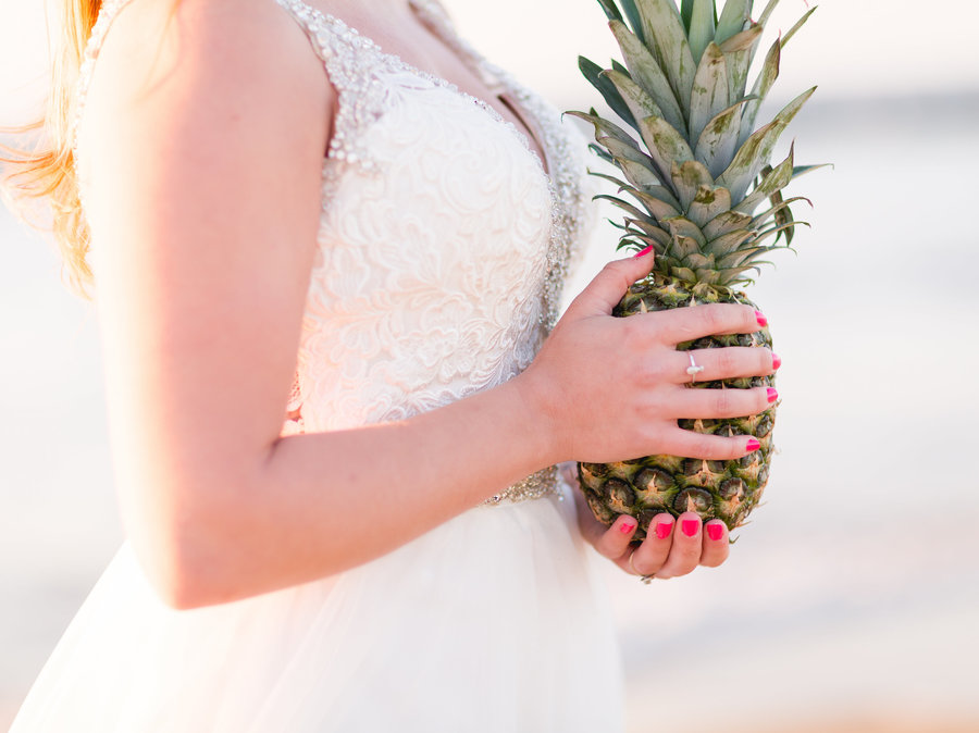 Pineapple Themed Wedding