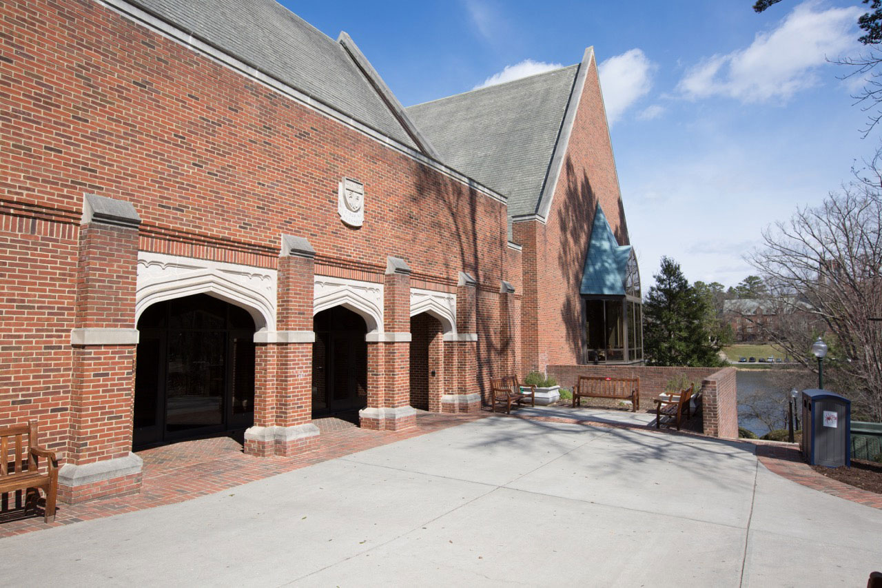 The E. Bruce Heilman Dining Center at the University of Richmond