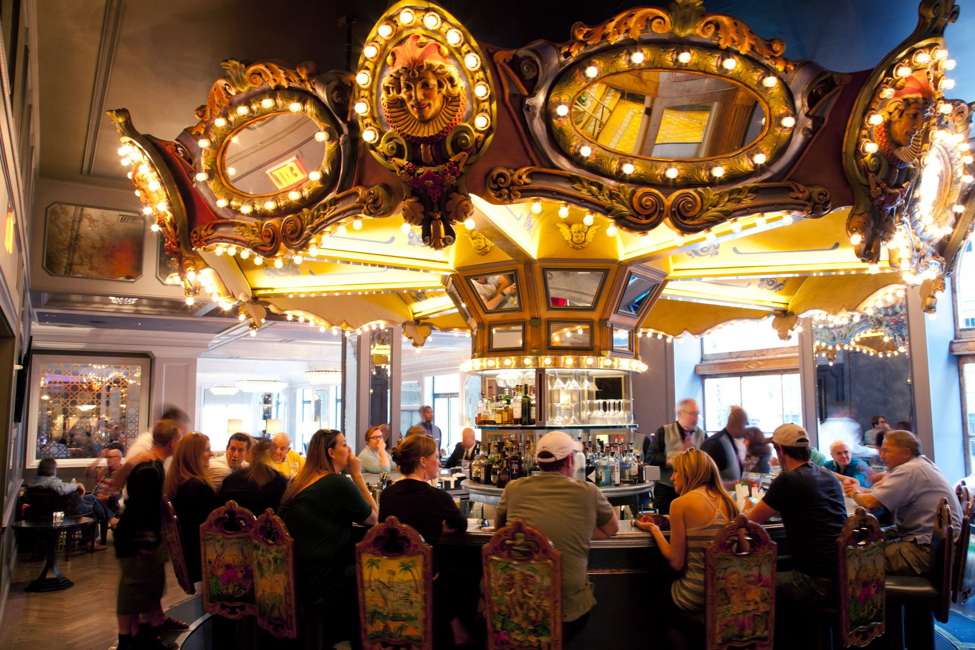 3. The Carousel Bar & Lounge in Hotel Monteleone
