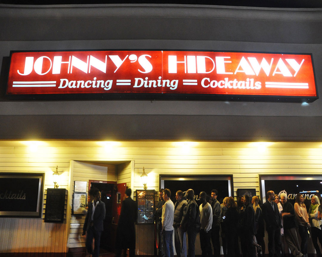 Johnny's Hideaway at Night