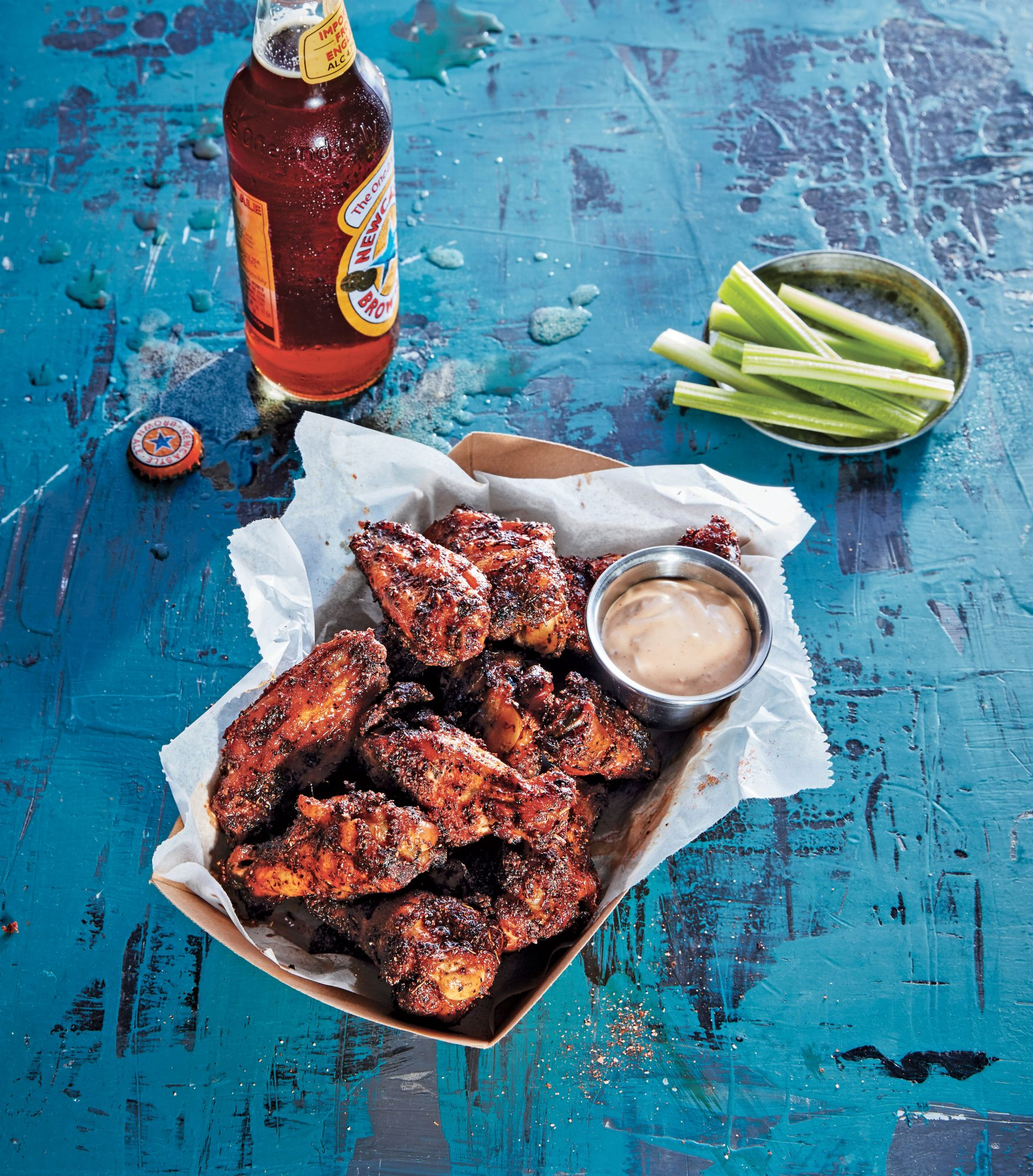 Dry Rubbed Smoked Chicken Wings Recipe Southern Living