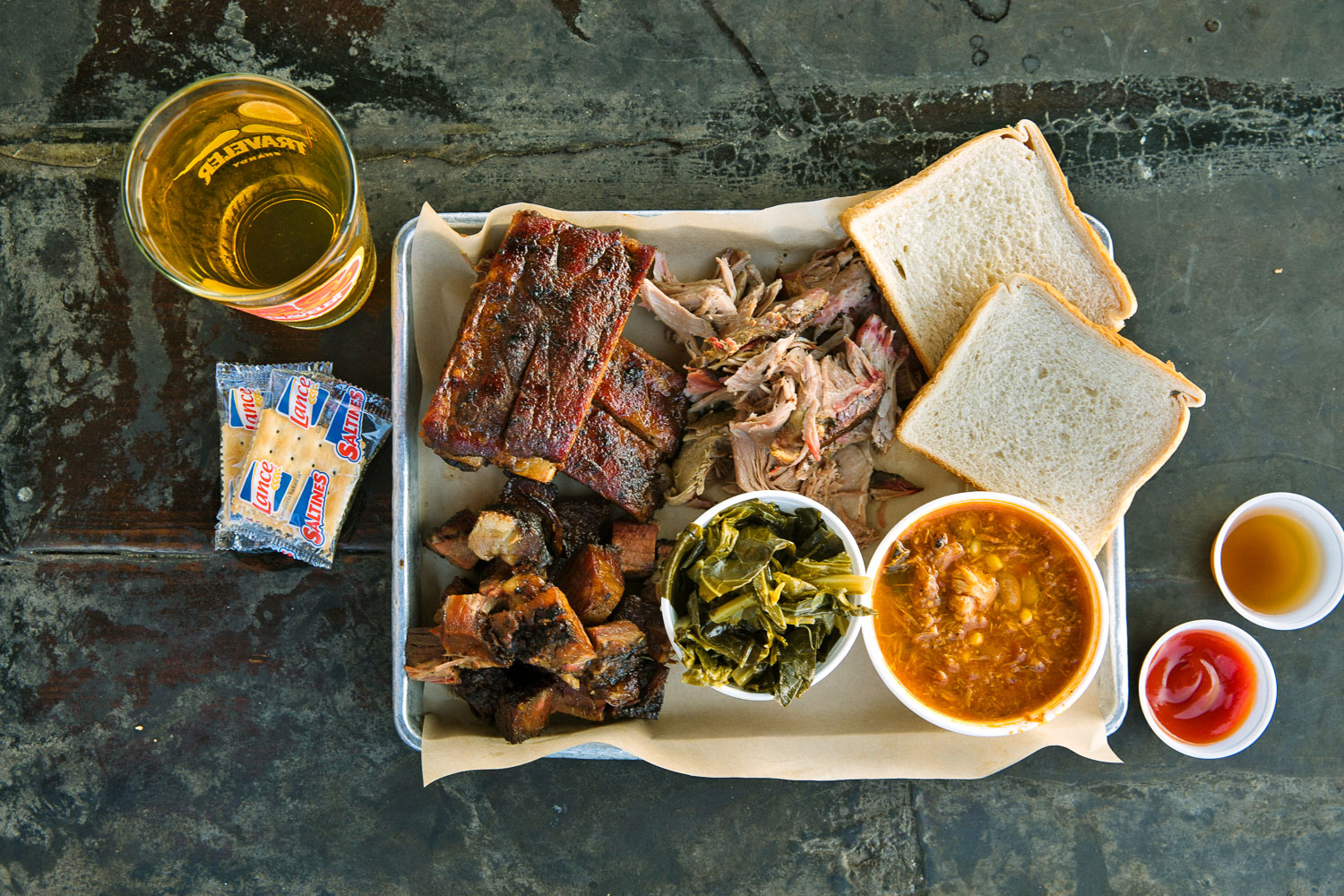 Southern Soul Barbecue Plate