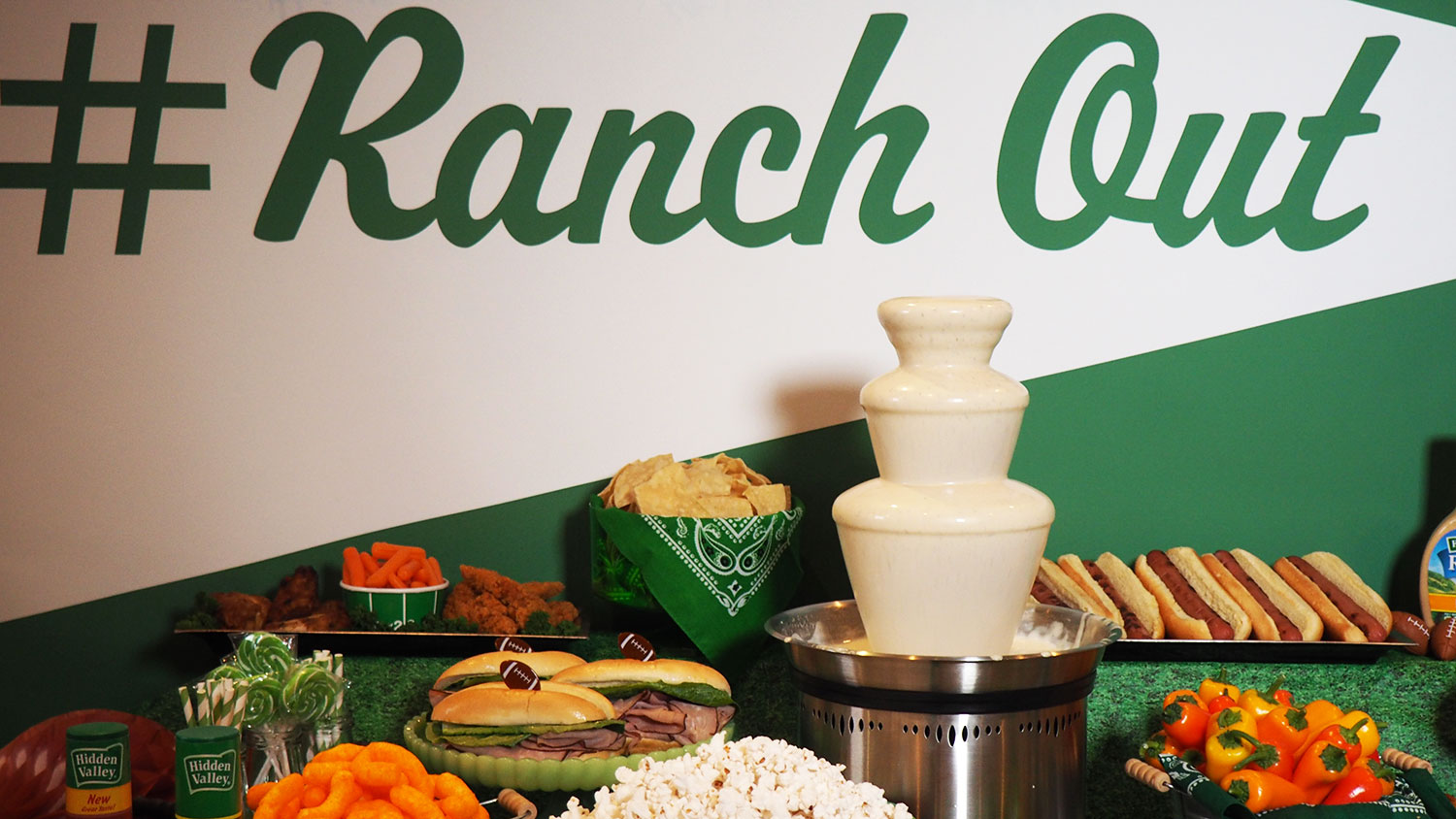 You Can Now Buy a Ranch Dressing Fountain