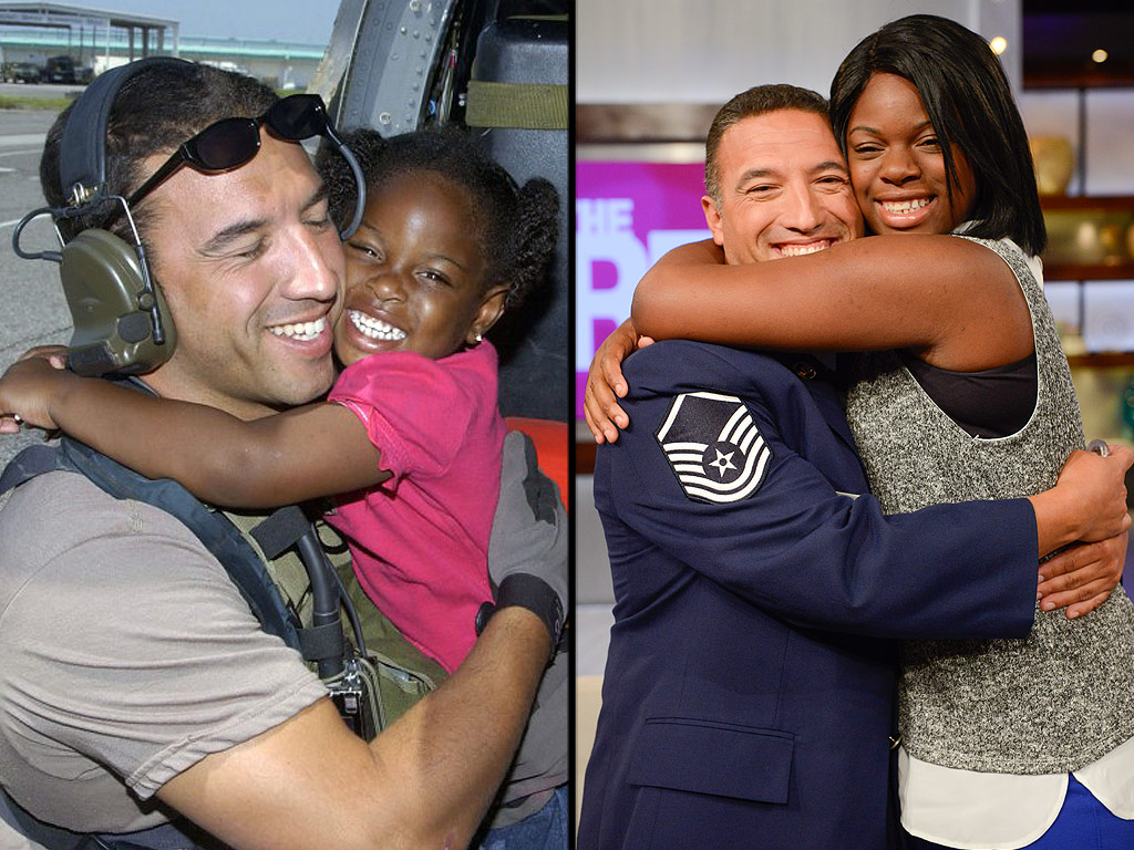 'Katrina Girl' to Bring Air Force Vet Who Rescued Her During 2005 Hurricane to Junior ROTC Ball: 'I Would Do Anything to Repay the Hug,' He Says