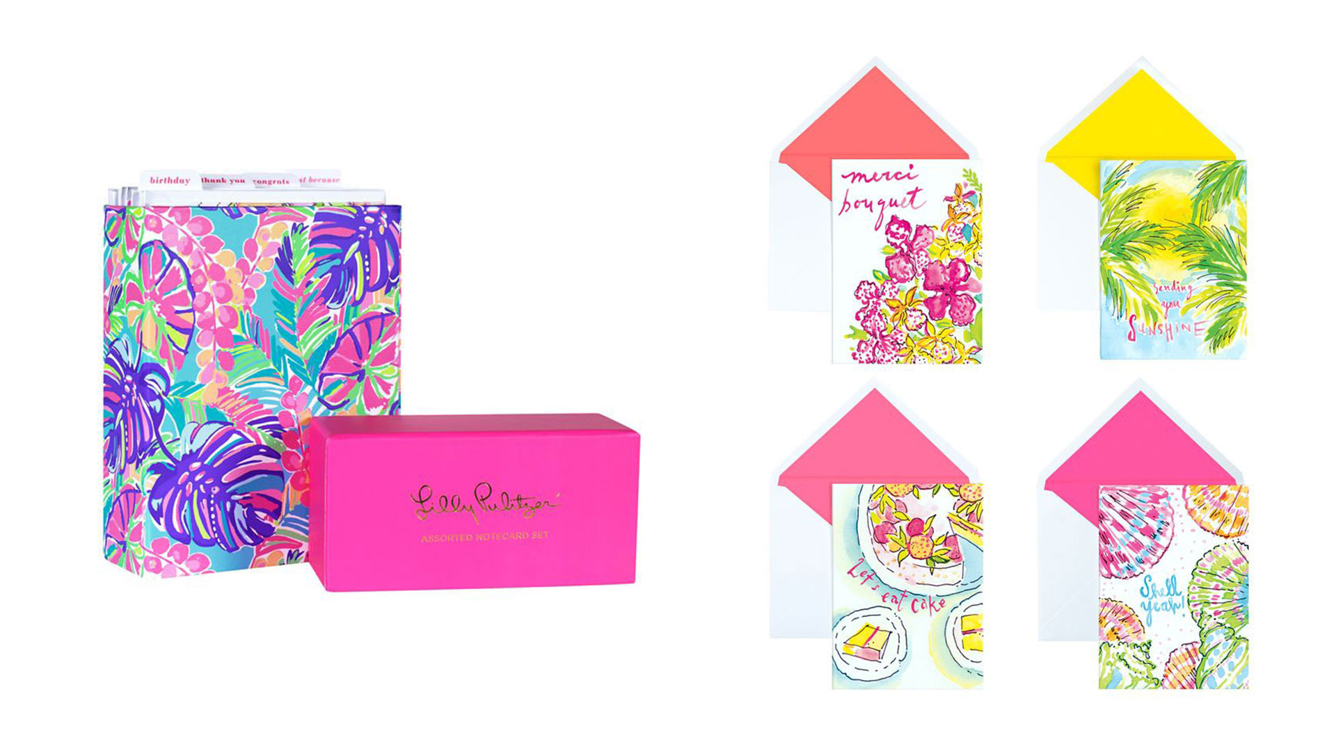 Lilly Pulitzer Note Card Set