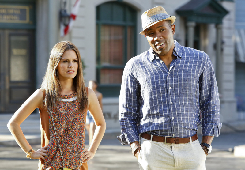 Zoe and Lavon: Hart of Dixie