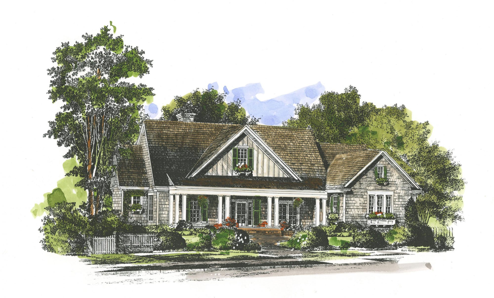 Reasons we love the new oxford house plan southern living for House plans with guest houses southern living