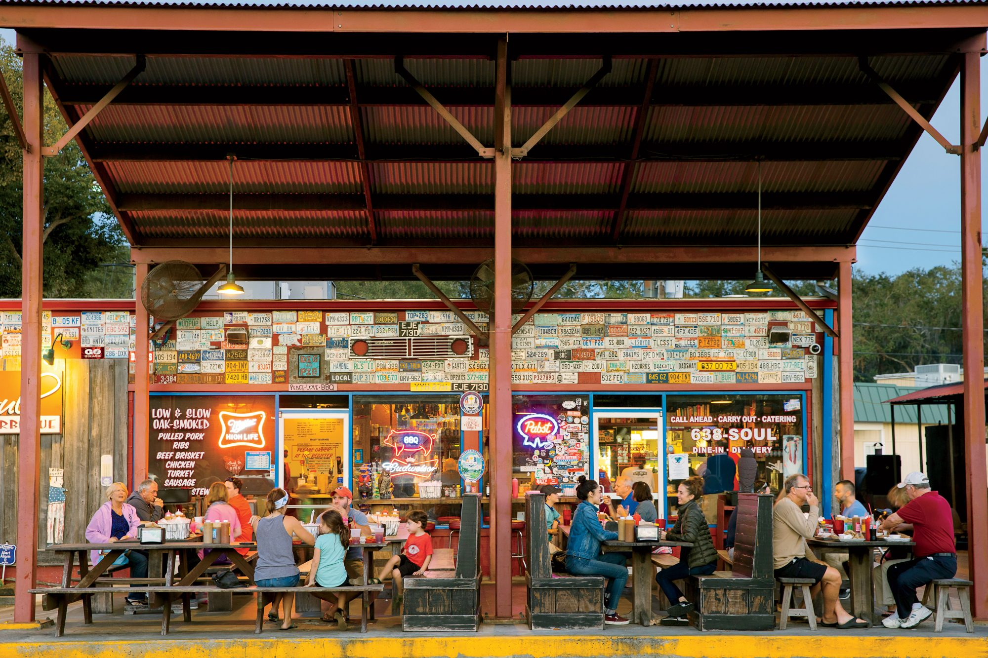 the best barbecue joint in every southern state southern living