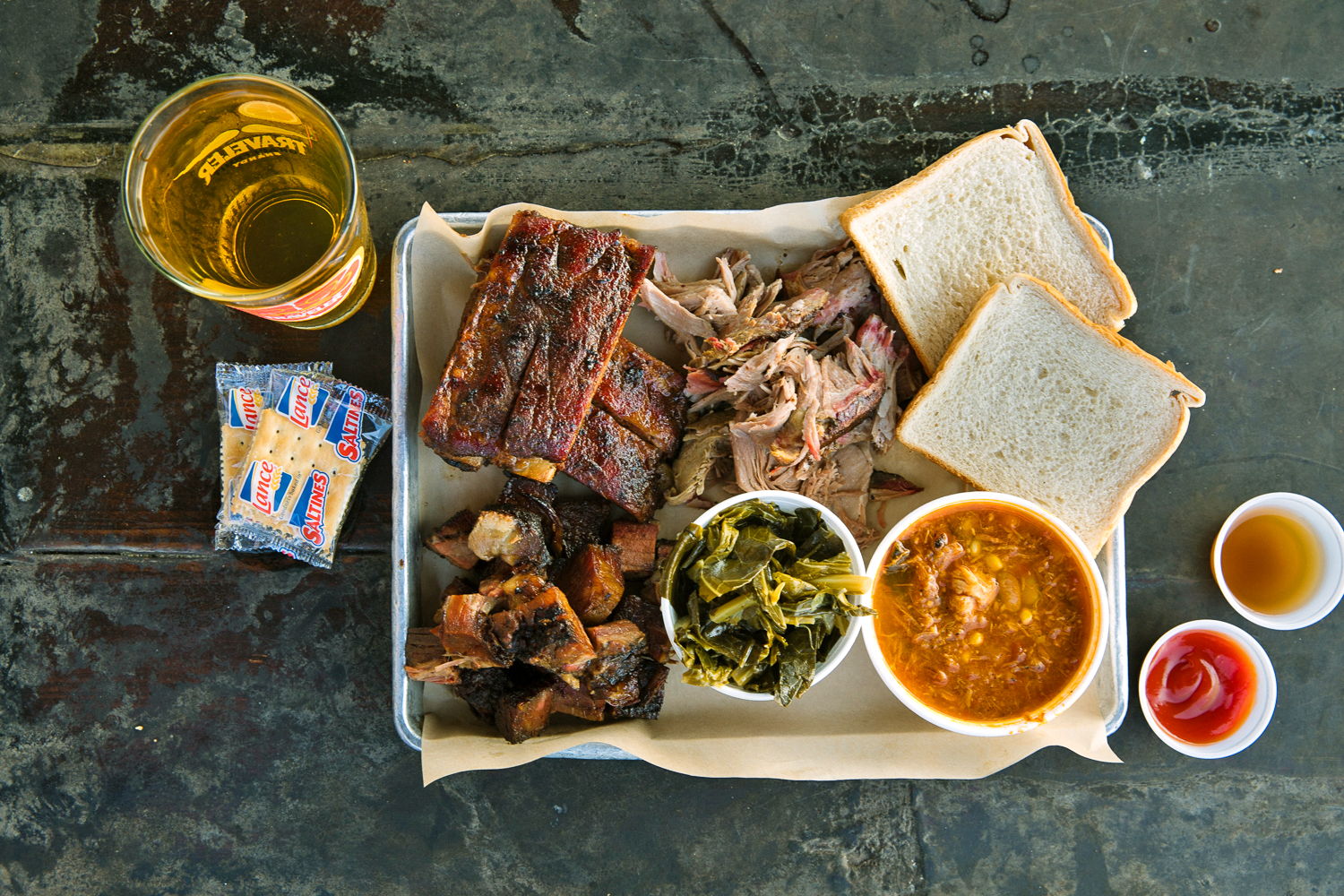 Southern Soul BBQ Plate