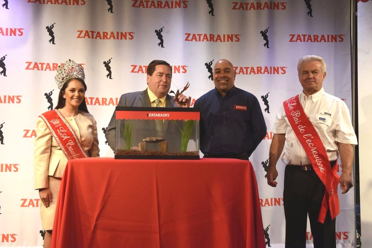 Zatarains Crawfish Pardoning