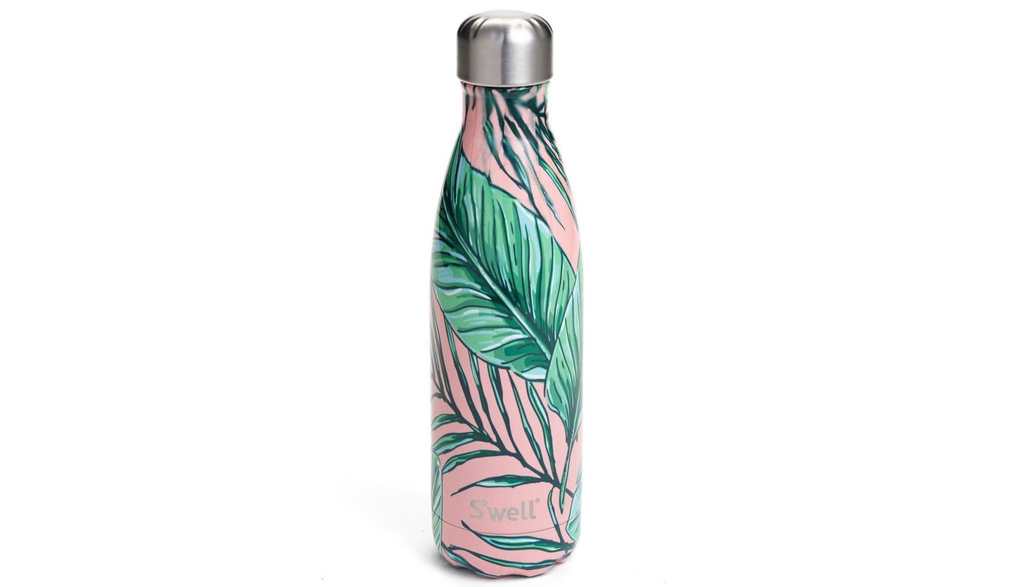 'Palm Beach' Stainless Steel Water Bottle