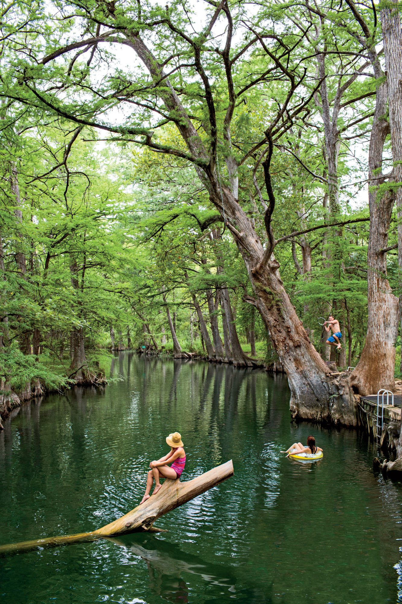 Blue Hole in Wimberley Texas