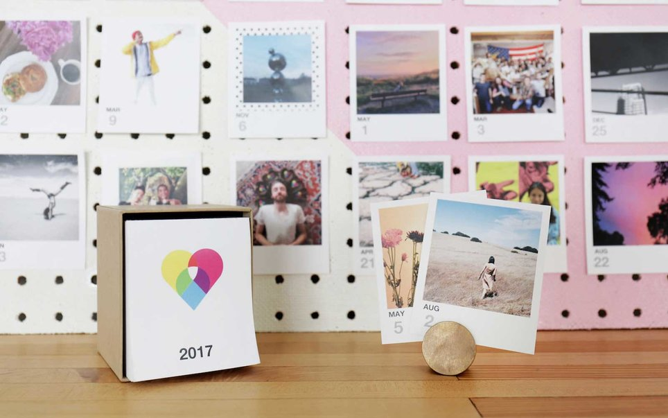 Make your desk less sad with a daily travel photo calendar