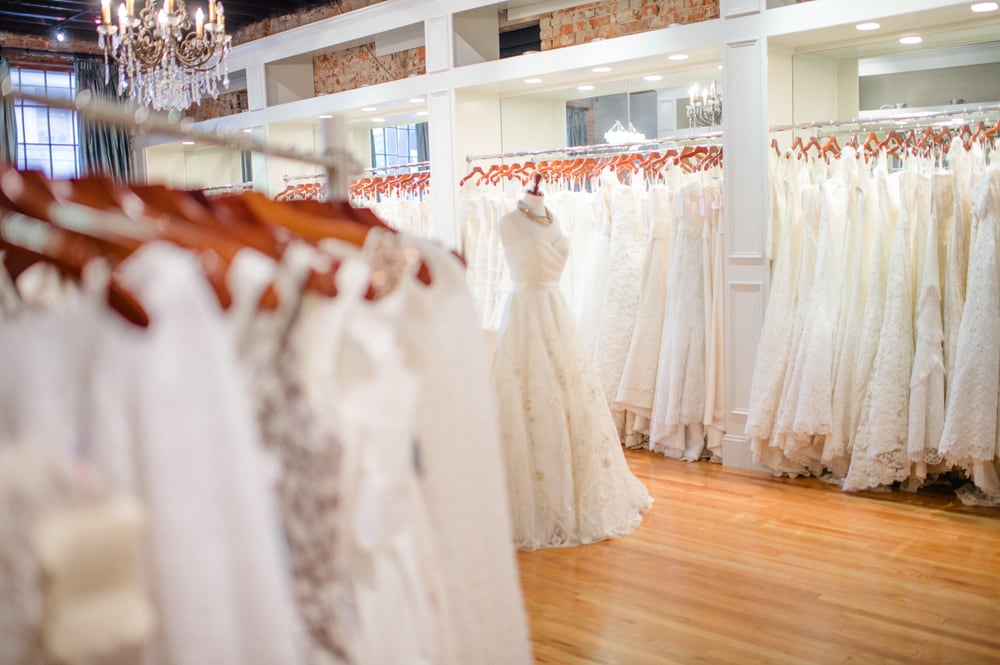 The best wedding dress shops in every southern state southern living north carolina hayden olivia bridal junglespirit Gallery