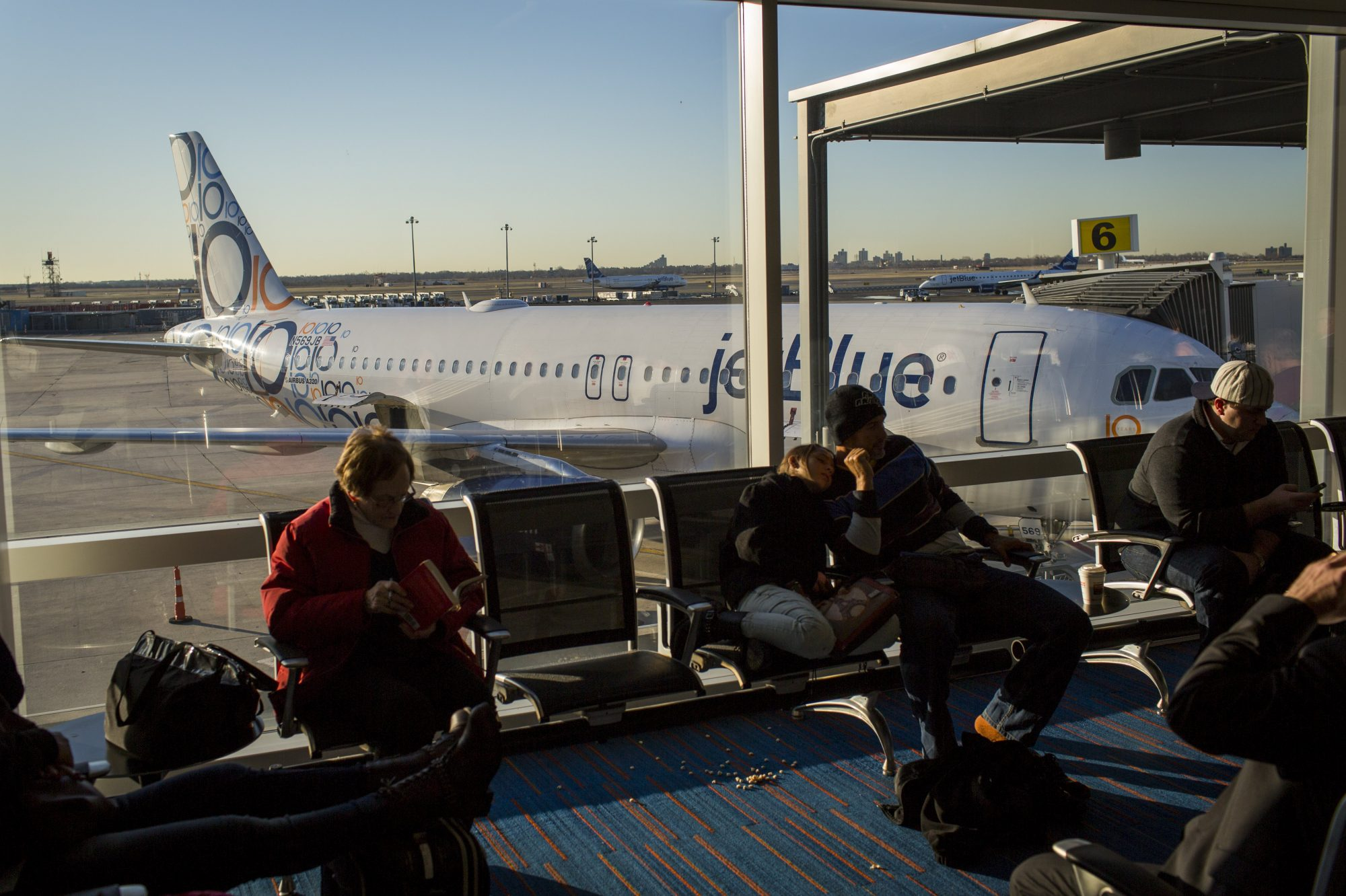 JetBlue Airways At JFK Airport
