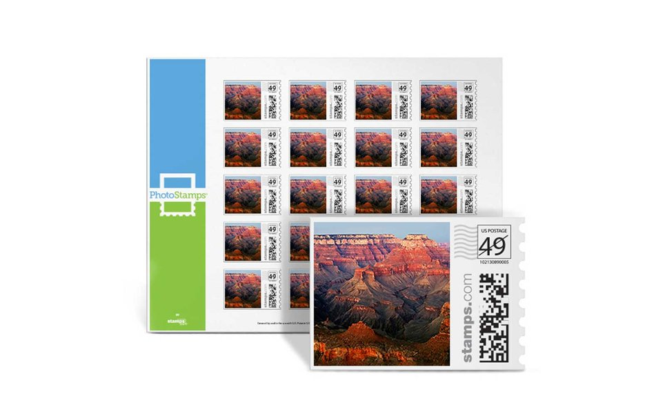 Create your very own stamps