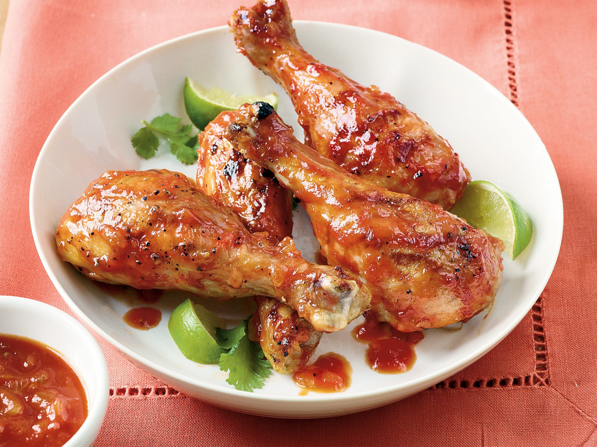 Spicy Honey-Lime Barbecue Sauce