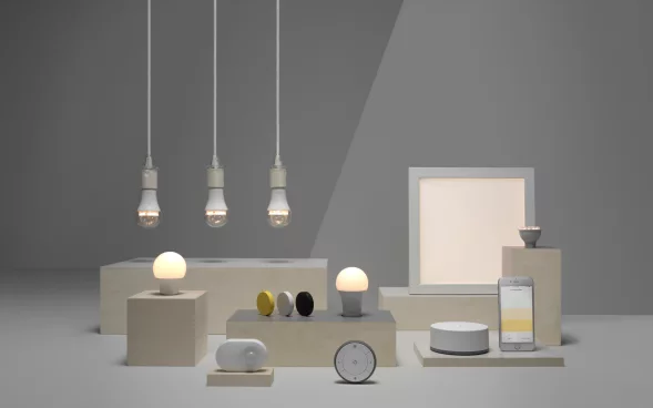 You'll Soon Be Able to Control IKEA's Smart Lightbulbs With an Amazon Alexa or Google Home