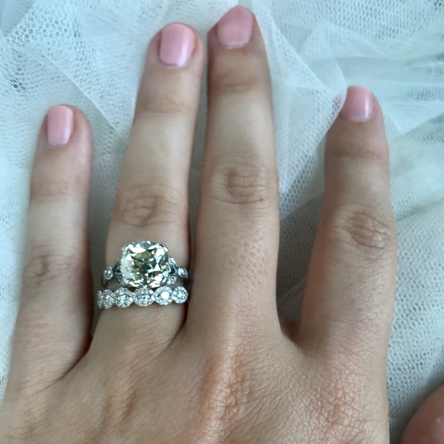 With Grandmother's Ring, I Thee Wed