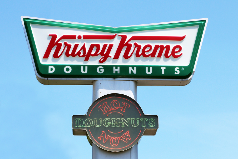 Krispy Kreme has branched out into a totally different sweet treat, and we have to try these