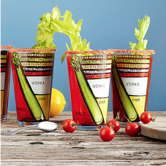 Bloody Mary Glassware
