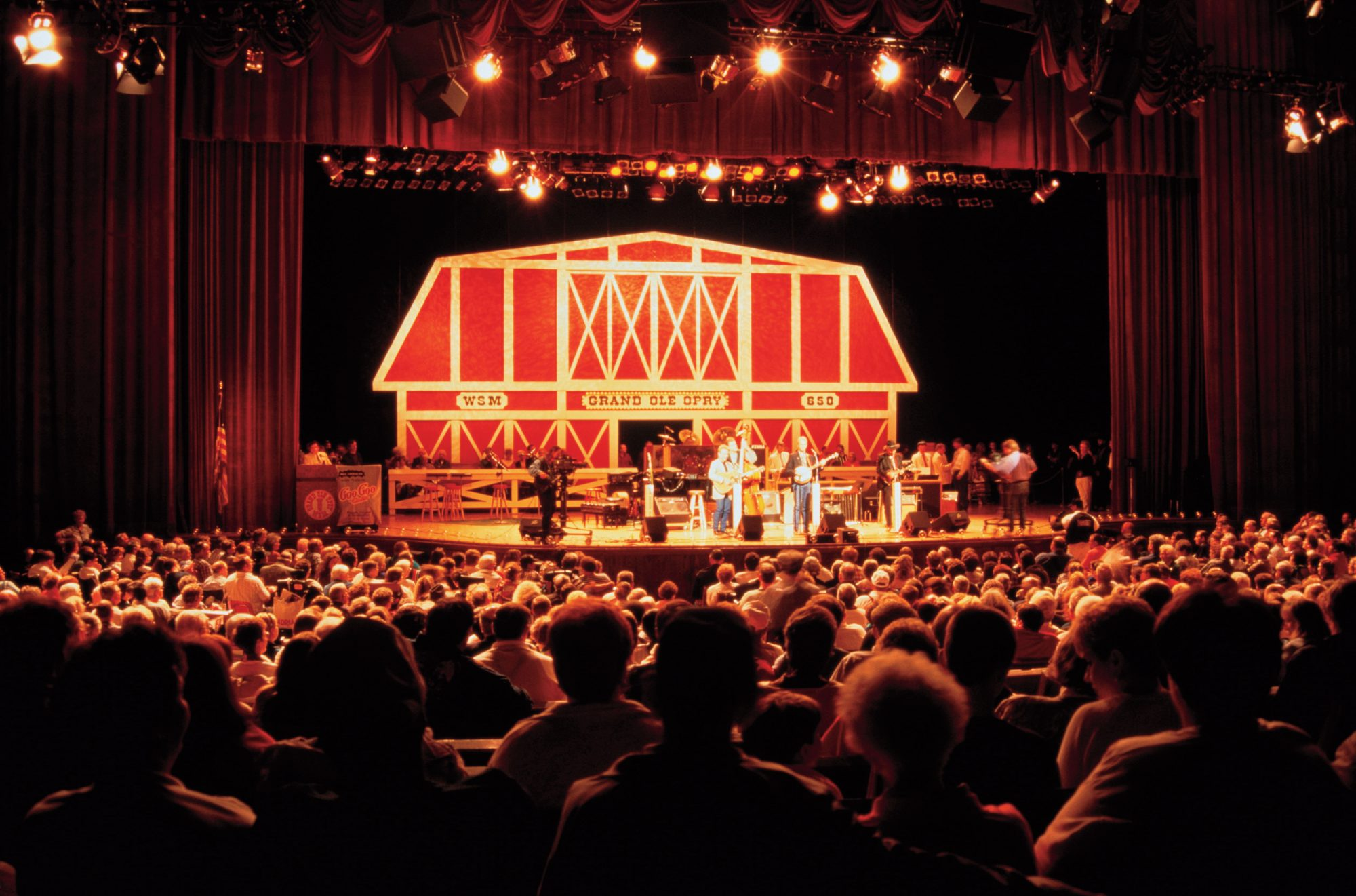 15. See a show at the Grand Ole Opry