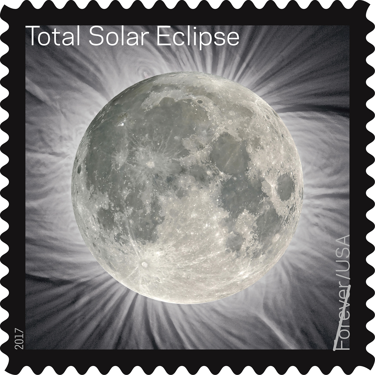solar eclipse stamp