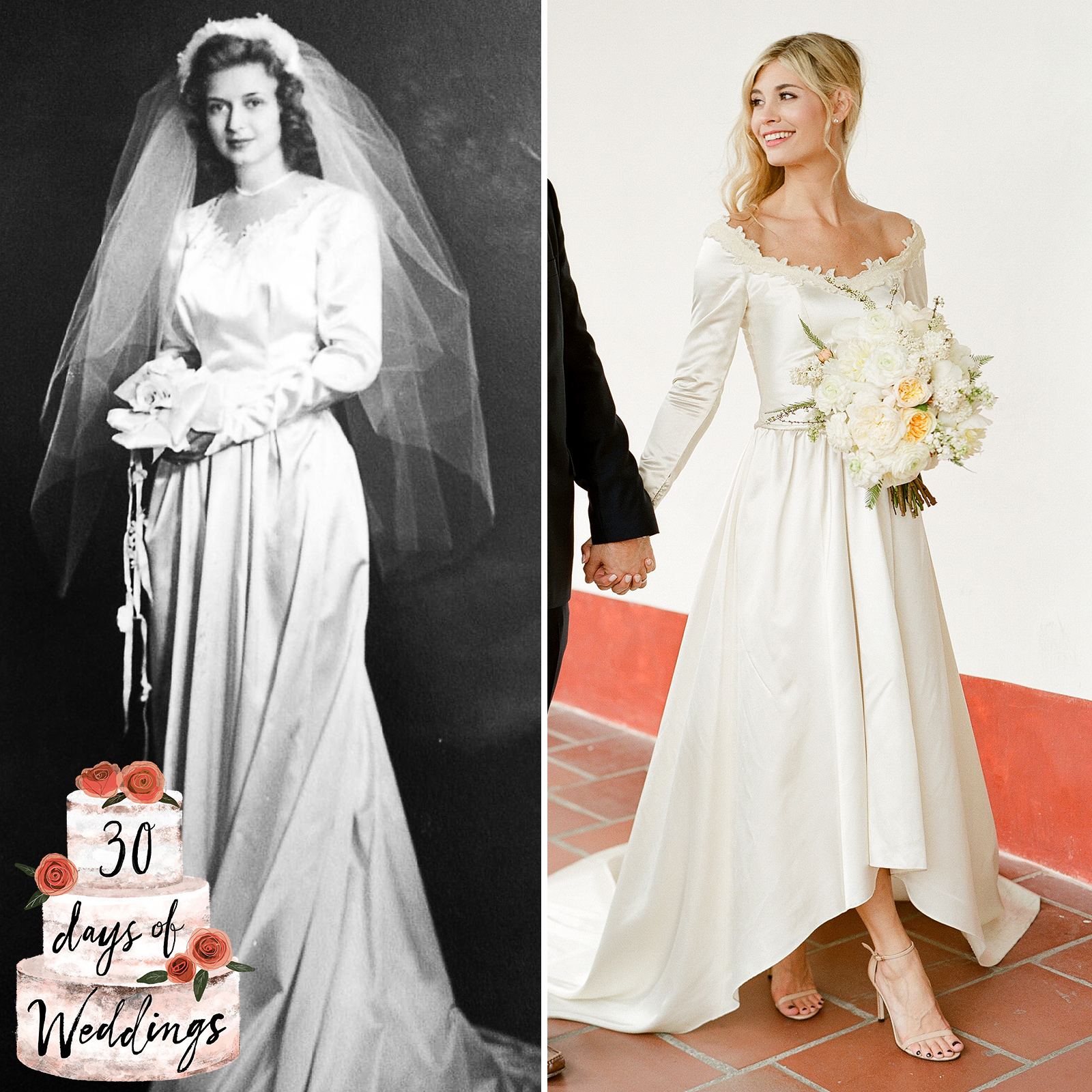 I Altered My Grandmother S Wedding Dress To Wear At Instyle