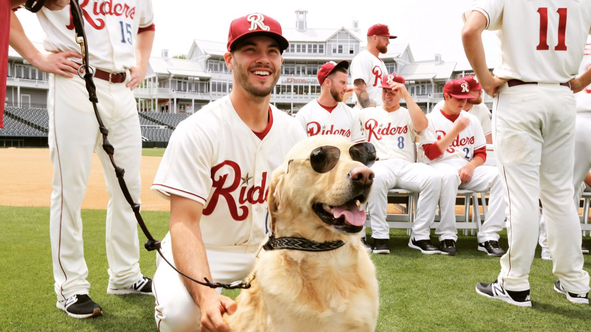 minor league baseball team dog does bad job