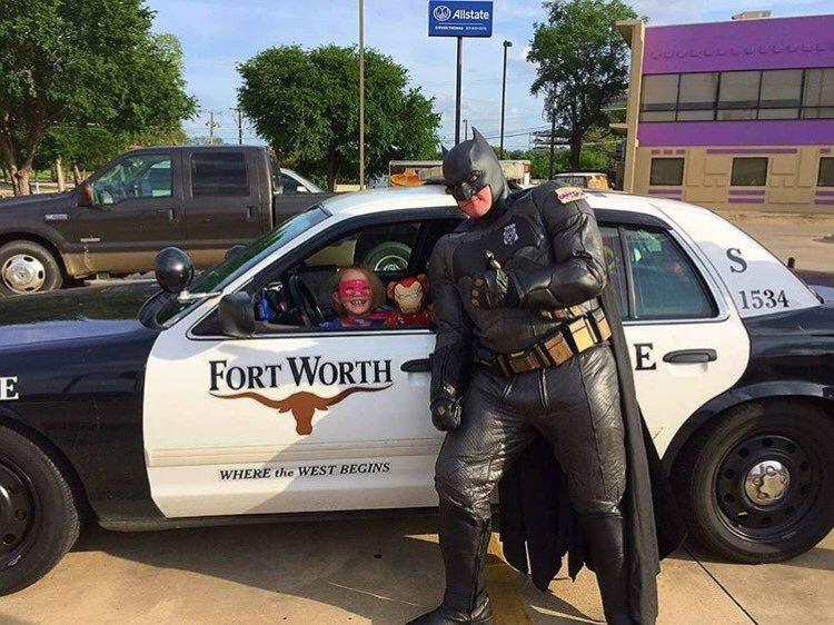 fort worth texas real life batman