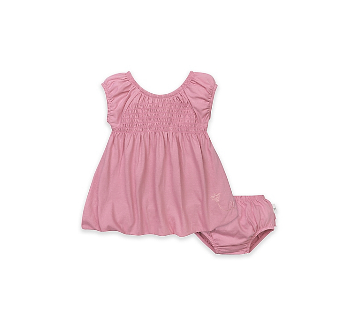 Burt's Bees Baby Organic Smocked Bubble Dress