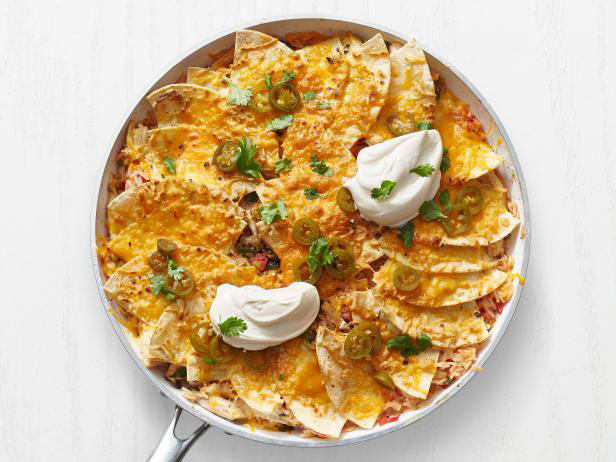Chicken Enchilada Rice Bake
